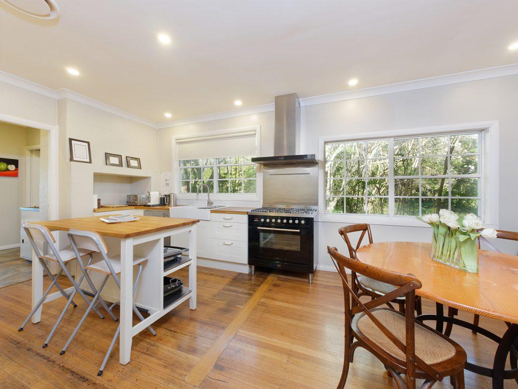Binnowee Cottage Kitchen